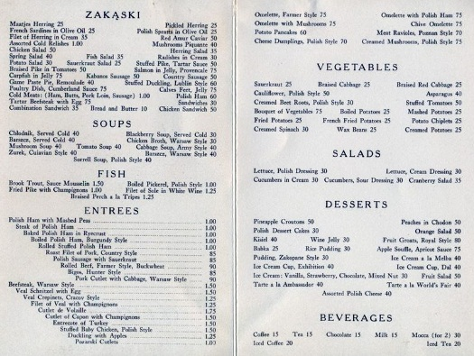 polish-pavilion-1939-restaurant-menu