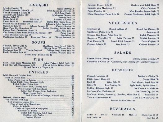 polish-pavilion-1939-restaurant-menu