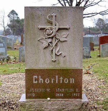 Chorlton tombstone