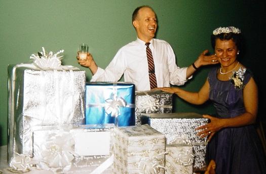 wedding gifts 1957