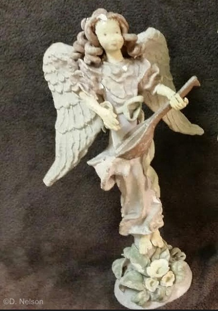 MANDOLINIST angel by Cybis ca 1940 view 1