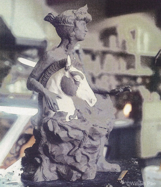 HELEN OF TROY by William Pae clay model for Cybis