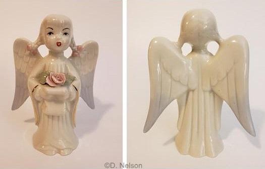 1950s Cybis Singing Angel BeautyPageant