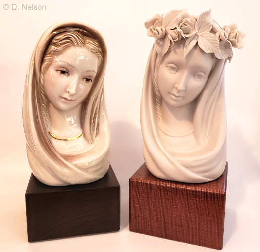 Cybis Madonna Busts From the1950s