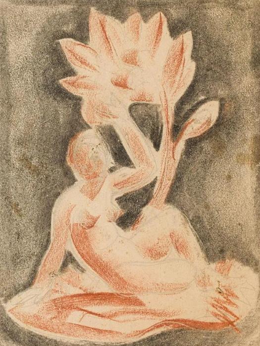Nudes by Boleslaw Cybis – Drawings andPaintings