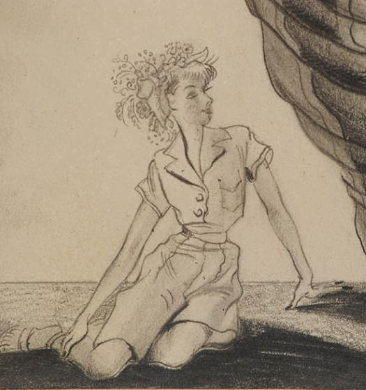 Boleslaw Cybis Drawings from the1940s