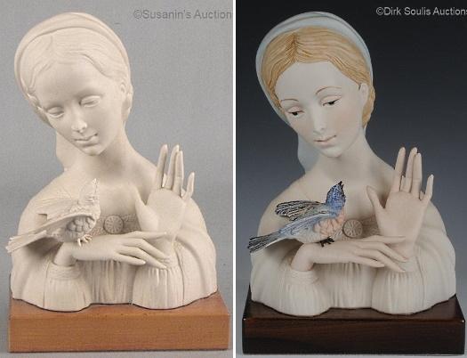 White Bisque Versions of Cybis PorcelainSculptures